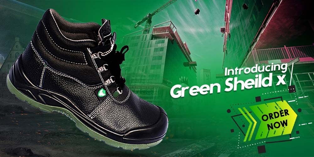 Green Shield X safety shoes
